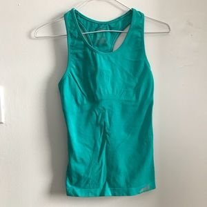 Avia turquoise workout tank SIZE S